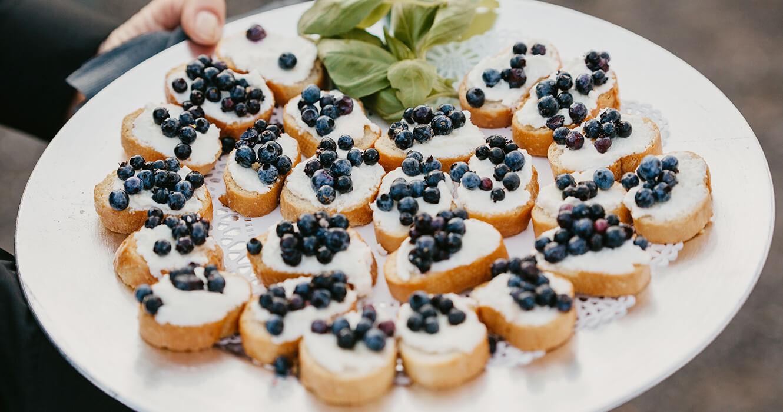 Wedding Venue Food